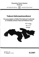 Nahost-Informationsdienst