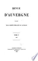 Revue d'Auvergne