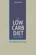The Low Carb Diet Food Diary Book PDF