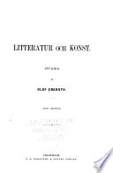 Litteratur och konst Studier