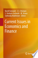 Current Issues in Economics and Finance Book