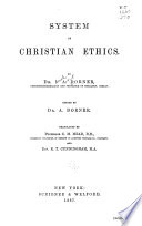 System Of Christian Ethics Book PDF