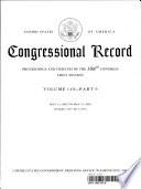 Congressional Record, V. 149, PT. 9, May 14, 2003 to May 21, 2003