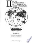 II Ciclo internacional de conferencias sobre viticultura