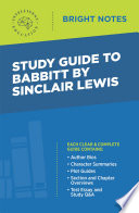 Read Online Study Guide to Babbitt by Sinclair Lewis For Free