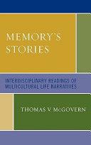 Memory s Stories Book PDF