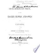 Our Birds of Prey Book
