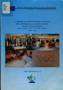 A Primer On Participatory Surveys And Appraisals In Agricultural Rural Development Book PDF