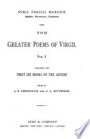 The greater poems of Virgil  The first six books of the Aeneid
