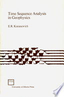 Time Sequence Analysis in Geophysics  Third Edition Book