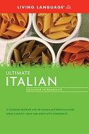 Living language ultimate Italian Book