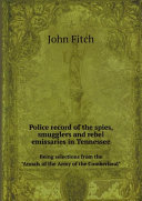 Pdf Police record of the spies, smugglers Telecharger