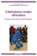 Pdf Littératures orales africaines - Perspectives théoriques et méthodologiques Telecharger