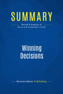 Summary  Winning Decisions