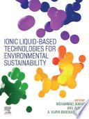 Ionic liquid Based Technologies for Environmental Sustainability