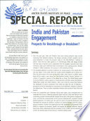 India and Pakistan Engagement
