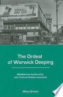 The Ordeal of Warwick Deeping