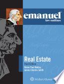 Emanuel Law Outlines for Real Estate