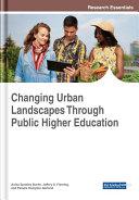 Changing Urban Landscapes Through Public Higher Education Pdf/ePub eBook