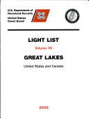 U. S. Coast Guard Light Lists