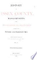 History of Essex County, Massachusetts