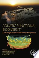 Aquatic Functional Biodiversity Book