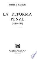 La reforma penal