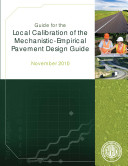 Pdf Guide for the Local Calibration of the Mechanistic-empirical Pavement Design Guide