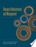 """Research Administration and Management"" by Elliott C. Kulakowski, Lynne U. Chronister"