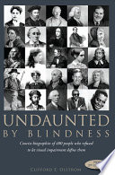 Undaunted by Blindness  2nd Edition
