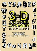 3 D and Shaded Alphabets