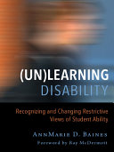 (Un)Learning Disability Pdf/ePub eBook