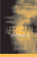 African Intimacies