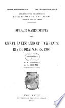 Water supply and Irrigation Papers of the United States Geological Survey