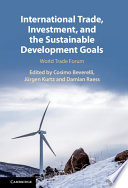 International Trade, Investment, and the Sustainable Development Goals