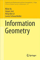 Cover image of Information Geometry