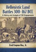 Hellenistic Land Battles 300-167 BCE Pdf/ePub eBook