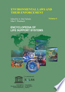 Environmental Laws And Their Enforcement Volume I