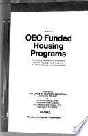 A Report on OEO Funded Housing Programs