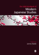 Pdf The SAGE Handbook of Modern Japanese Studies Telecharger