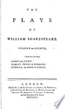 The plays of william shakespeare.