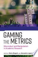 Gaming the Metrics