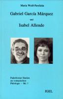 Gabriel García Márquez und Isabel Allende