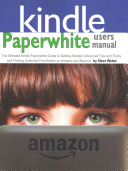 Paperwhite Users Manual