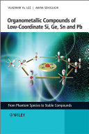 Organometallic Compounds of Low Coordinate Si  Ge  Sn and Pb