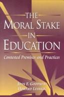 The Moral Stake in Education