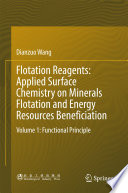 Flotation Reagents  Applied Surface Chemistry on Minerals Flotation and Energy Resources Beneficiation Book