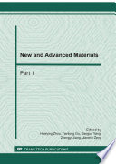 New and Advanced Materials Book