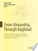 From Alexandria, Through Baghdad