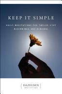 Keep It Simple Pdf/ePub eBook